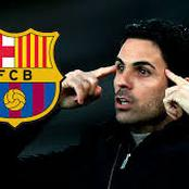 Checkout What Arteta Said About Becoming Barcelona's Next Coach