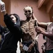 PHOTOS: Tribe that Remove the Dead from the Grave and Offer Them Food, Water and Cigarettes
