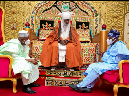 Read What Bola Tinubu Said About The Emir Of Kano After His Visit To Celebrate His Birthday In Kano
