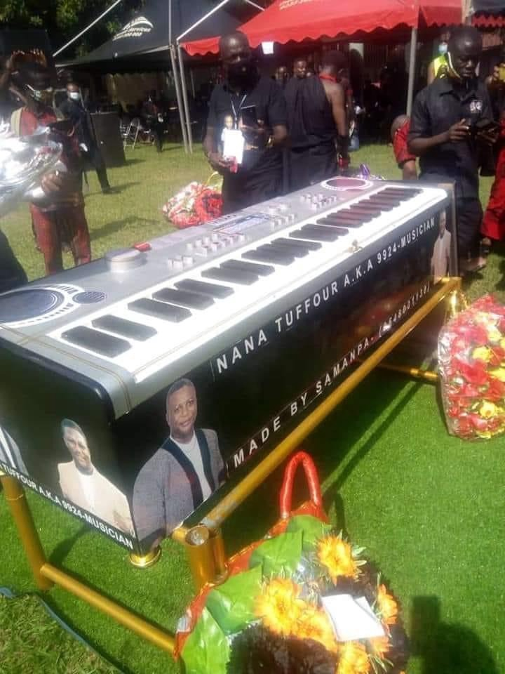 fa524f2939daf60a854963f7772ed172?quality=uhq&resize=720 - Highlife legend, Nana Tuffour Goes Home Today, Buried With A Keyboard Coffin