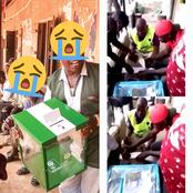 Check Out Video Of Men Caught Rigging Election In Delta State That Made People React (Watch Video)