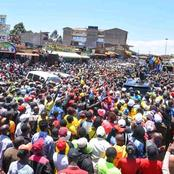 How Ruto Brought Gatunyu market in Gatanga to a Standstill