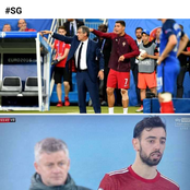 Manchester United Fans Loved What Bruno Fernandes Did Last Night Against City