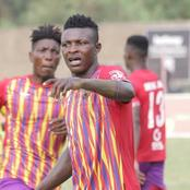 Isaac Mensah comes off the bench and scores the winning goal for Hearts of Oak for the second time.
