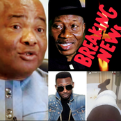 Today's Headlines: Nigerian Singer May D Survives Fire Accident, Jonathan Visits Gov. Hope Uzodinma