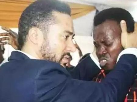 See Photos Of Majid Micheal In Church