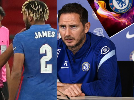 Lampard Urges Reece James To Learn From His England Red Card After Dessent