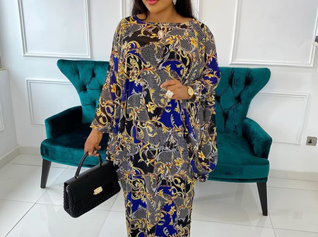 Ladies, CheckOut These Fabulous Boubou Styles For your Outings