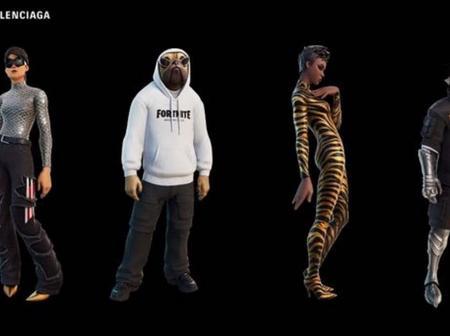 Fortnite : Jouer au jeu vidéo en portant du Balenciaga ? C'est possible depuis ce mardi - Opera News