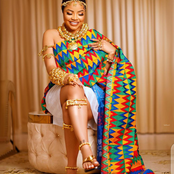 Nengi Dazzles In Gold And African Print As She Celebrates Ghana's Independence Day In Grand Style