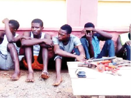 Police Arrest 35 Suspected Rapists, Killers and Armed Robbers in Ogun State.