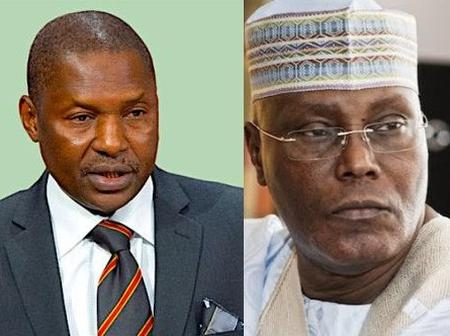 Malami Vs Atiku, Another Fresh Topic of Discussion In The Country.
