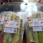 صور| عود القصب ملفوف .. قصب السكر يواكب التطوير: يُباع مكعبات معلبة لأول مرة مخصصًا للأكل (التفاصيل)