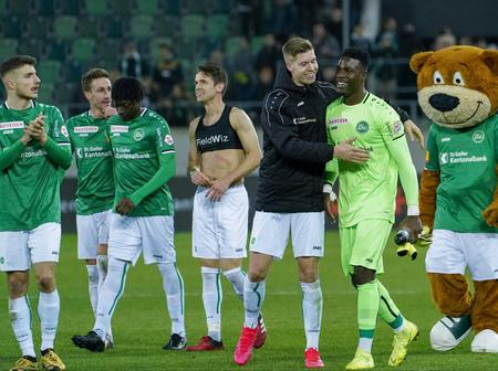 Check out the only Ghanaian Goalkeeper Playing Regularly in a Top Tier League in Europe.