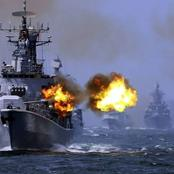 China And Singapore Hold Navy Drill