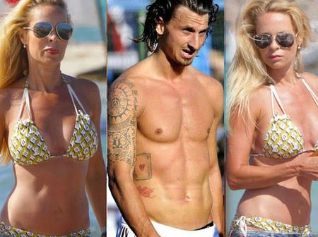 Beautiful Pictures Of The 50-Year-Old Woman Zlatan Ibrahimovic Is Married To