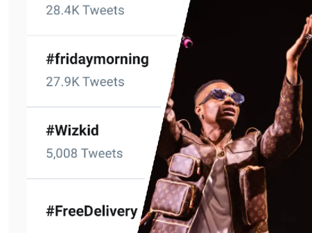Wizkid is trending on twitter, see the reason