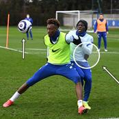 See what Abraham was doing in training that made Chelsea fans blast him