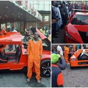 Meet Jerry Mallo, A 27 Years Old Car Producer Who Has Built Nigeria's First Ever Sports Car
