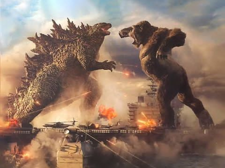 GODZILLA vs KONG, who wins the fight?