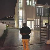 Reactions As Don Jazzy Shows Of His New Mansion