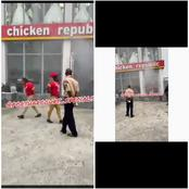 There Has Been Another Fire Outbreak In A Famous Eatery In Port Harcourt