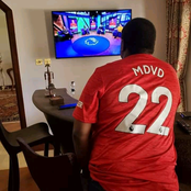 See where And How Musalia Mudavadi Watched Liverpool Vs Manchester United Game