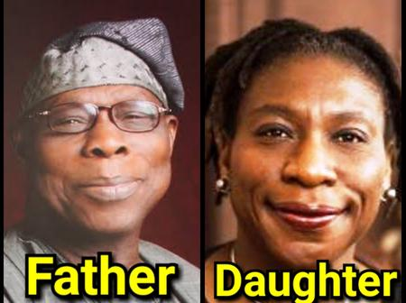 Olusegun Obasanjo Is 83 Years Old, See Photos Of His Look Alike Daughter And His Other Children