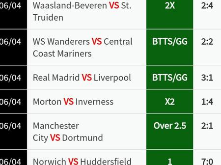 100% Sure Football Analysis And Prediction You Can Place And Earn Good Money
