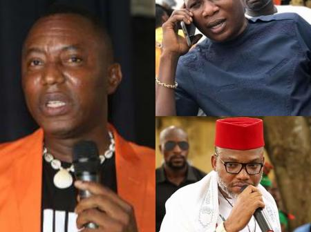 'Before We Break Up, Let's Do This To The Oppressive Leaders'- Sowore Advises Sunday Igboho & Others