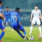 Future bafana midfield star features against Moreirense in the Primiera Liga.