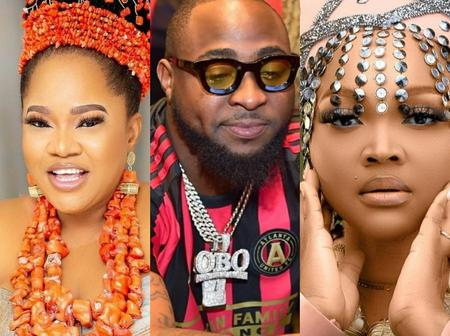 Check Out How Mercy Aigbe And Toyin Aimakhu Reacted As Davido Asks Where People See Money