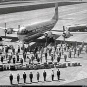 Remember The Plane That Took Off In 1955 And Landing Years After, See Pics Of What Happened (myth)