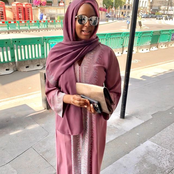 Dj Cuppy appears in a Muslim outfit as she wishes fans 'a month full of happiness'