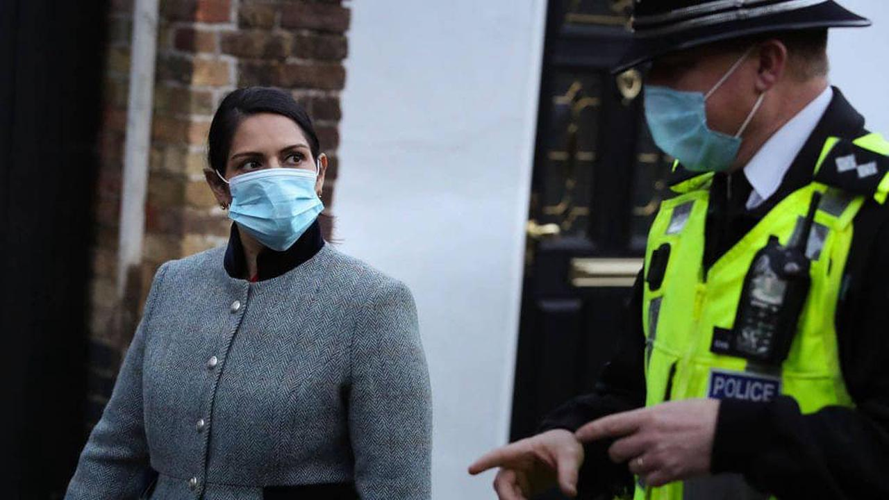 'We deserve better': Police urge Priti Patel to increase 'unfair' pay