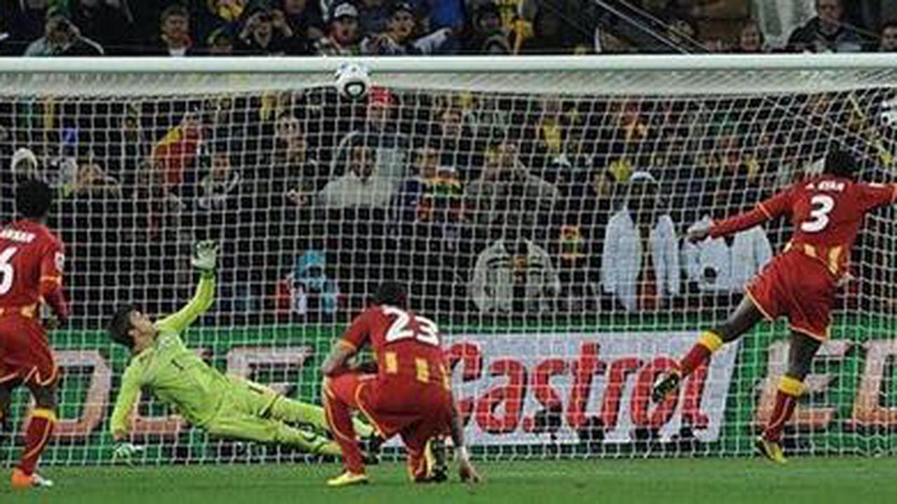 La dure épreuve du penalty : Gyan et le rêve déchu du Ghana . Sport
