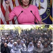 7 years After the Abduction of Chibok Girls, See what US Speaker Pelosi said about the Chibok girls