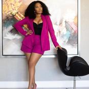 Terry Pheto leaves her fans speechless with her recent picture.