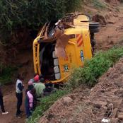 Three People Die on The Spot After Another School Bus Is Involved in A Nasty Road Accident