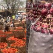 The food stuff is now being transported to Yoruba and Igbo lands from Hausa-Alhaji Aminu