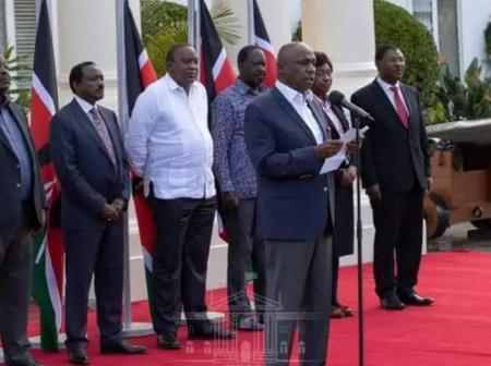 1st Samuel 16 Is the Verse That Answers the Question Where Dp Ruto Was During This Briefing