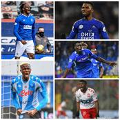 Goals Galore As Several Super Eagles Players Score For Their European Clubs