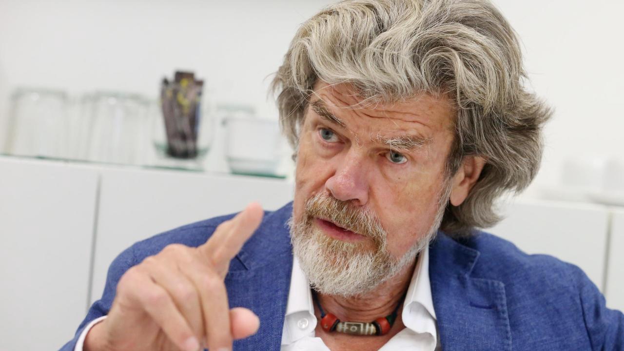 Reinhold Messner mahnt bei Klimawandel