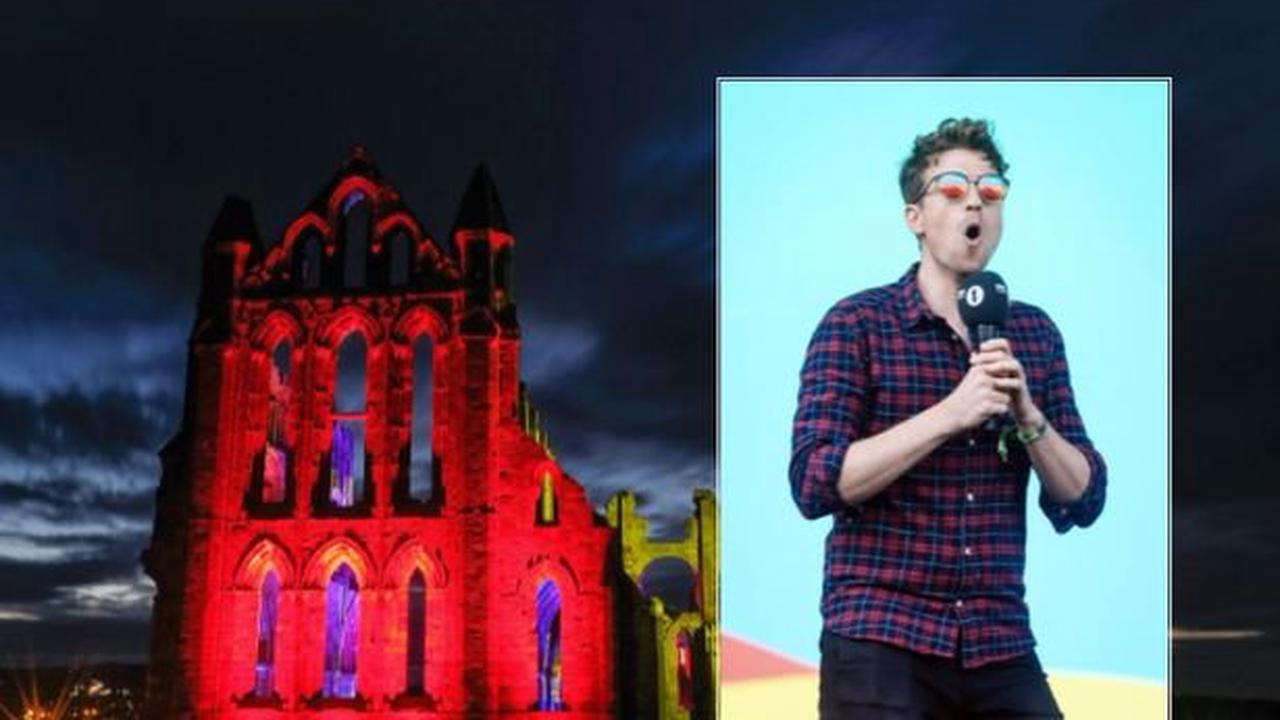 Whitby Abbey revealed as one of BBC Radio 1's Big Weekend locations by Greg James