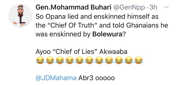 fb2b702a902eb6113ce1aa2c491462d2?quality=uhq&resize=720 - See some reactions of Ghanaians after Bole Chief exposed his own son, John Mahama