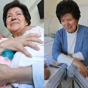 After A 64-year-old Woman Successfully Gave Birth To Twins, See The Sad Thing That Happened Next