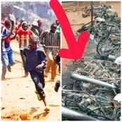 After Some Hausa Men Beat Up A Young Man, See What Angry Youths Did To Them In Edo State