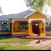 Build This Beautiful 3 Bedroom House At Only Ksh. 400,000