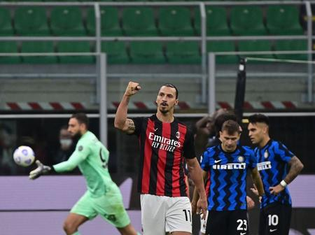 Ibrahimovic 'Gun' Down Inter After Winning The Fight Against Corona Virus
