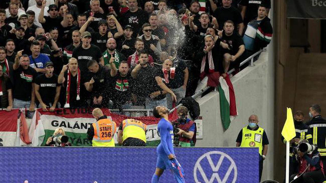 Hungary punished by FIFA for racist behaviour of fans against England